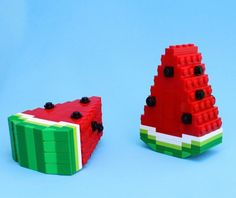Made Us Look: This LEGO Food Looks Good Enough to Eat via Brit + Co.