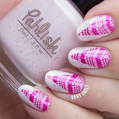 Marvelously made by @veryemily via instagram, Messy Mansion has been used here on the MM56 Nail Stamping Plate.