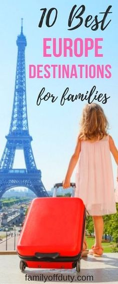 The best family vacations in Europe approved by family travel bloggers for your Europe family trip. What to see in Europe with kids? Check our list list of top European family holiday destinations. Our list includes the best family holiday resorts in Europe for an amazing family vacation. #familytravel #travelwithkids #europevacations Looking for best kids holidays in Europe? Find family holiday destinations and vacation ideas for your Europe trip with kids.