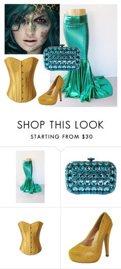 """Creepy Sexy Mermaid"" by chicastic on Polyvore"