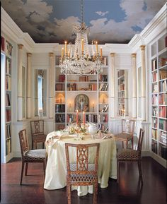 Isn't this so Baroque! If I live in a palace someday, I'll be sure to include a room like this.