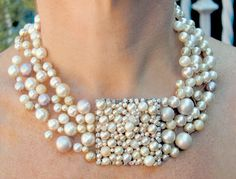 pearls...beautiful statment necklace
