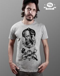 Mcbess Meat Portrait T-Shirt