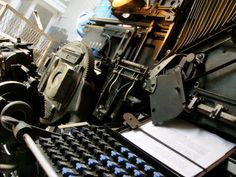 Celebrating Linotype, 125 Years Since Its Debut