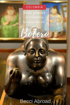 Colombia is the perfect choice for seeing the sculptures and art of Fernando Botero. Check out the best place for enjoying his art in Colombia! Latin America, South America, The Good Place, Places, Check, Movie Posters, Art, Fernando Botero, Medellin Colombia