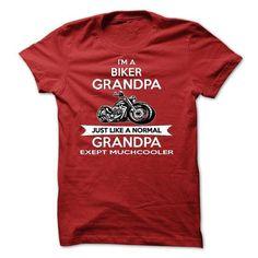 I'm A Biker Grandpa Motorcycle T Shirts, Hoodies, Sweatshirts. CHECK PRICE ==► https://www.sunfrog.com/Names/Im-a-Biker-Grandpa--Motorcycle.html?41382