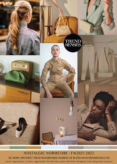 Nostalgic Normcore - casual, basic clothing with a nostalgic vibe Spring Summer Trends, Winter Trends, Fashion Colours, Colorful Fashion, Cos Stores, Fashion Forecasting, Shopping Chanel, Elle Magazine, Color Trends