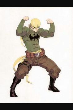 Seriously sweet Iron Fist cosplay costume idea