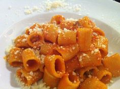 Curious about some of the most classic foods in Italy? Pasta all'Amatriciana and La Cricia are two Italian foods you should know about. Includes a recipe!
