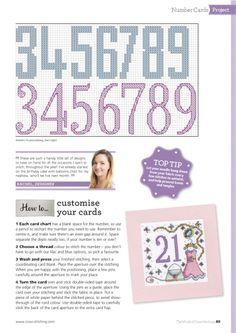 ru / Фото - The world of cross stitching 238 - tymannost Cross Stitch Cards, Cross Stitch Alphabet, Cross Stitching, Cross Stitch Patterns, Birthday Greeting Cards, Birthday Greetings, Thing 1, Alphabet And Numbers, Birthday Balloons