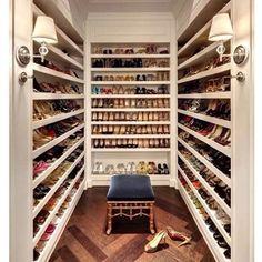 Shoe closet idea