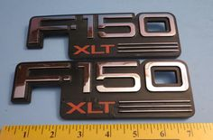 Ford F-150 XLT Factory Fender Emblems