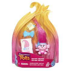 "DreamWorks Trolls Baby Poppy Collectible Figure - Hasbro - Toys ""R"" Us"