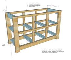 Ana White | Build A Dumpster Dresser From 2x4s | Free And Easy DIY Project  And