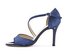 Madame Pivot Shop | CHARLOTTE Blue velvet