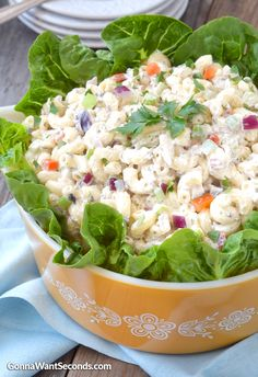 This Blogger's All-Time Favorite Macaroni Salad...Super Creamy Classic Dressing With All The Perfect Goodies mixed inside!!