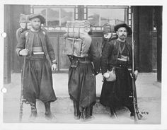 """French Zouaves, China Relief Expedition """"Boxer Rebellion"""" 1898-1900."""