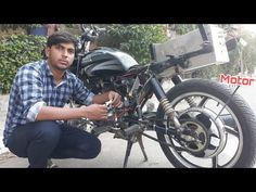 Petrol and Electric Hybrid Motorcycle Part Bike Kit, Goat Farming, Motorcycle Parts, Electric, Science, Creative, Youtube, Youtubers, Youtube Movies