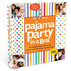 Pajama Party in a Box! #PJParty #littlemissmatched