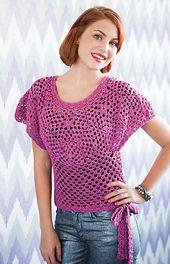 Ravelry: Ruby Sweater pattern by Kristin Omdahl