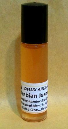Arabian Jasmine Perfume, All Natural Essential Oil in Jojoba, Intoxicating scent #SleepingDragonsCompany