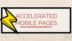 Accelerated Mobile Pages (AMPs) Now Indexed in Organic Search Results - Search Engine Journal