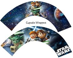 Lego Star Wars Cupcake Cup Cake Wrappers Birthday Party Instant Download on Etsy, $4.00
