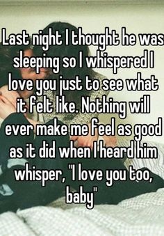 Last night I thou... | Whisper - Share, Express, Meet