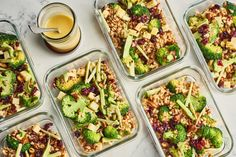 There's a lunch option here for every kind of salad-lover, whether you prefer grains or beans, lentils or pasta, or just straight-up veggies. Veggie Taco Salad, Quick Lunch Recipes, Healthy Recipes, French Green Lentils, Tortellini Salad, Pasta Salad, Make Ahead Lunches, Savory Salads, Lentil Salad