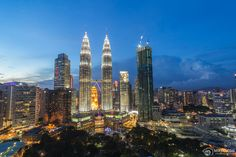 Kuala Lumpur is a large and well developed city in South East Asia and is the