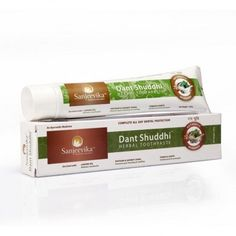 DANT SHUDDHI TOOTH PASTE -  * Keep Gum Strong and healthy * Removes plaque  * Reduce swelling and bleeding * Refresh mouth Ayurvedic Medicine, Natural Products, Teeth, Health Care, Tooth Paste, Foundation, How To Remove, Medical, Personal Care