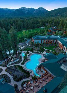 Hyatt Regency Lake Tahoe Resort, Spa and Casino Incline Village, NV# Keep Tahoe Blue! Lake Tahoe Spa, Lake Tahoe Lodging, Lago Tahoe, Lake Tahoe Vacation, Vacation Destinations, Dream Vacations, Vacation Spots, Family Vacations, Vacation Ideas