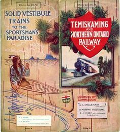 Temiskaming & Northern Ontario Railway pamphlet, Canada