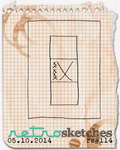 retro sketches : a challenge: retrosketches #114...