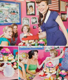 """1950s housewife bridal shower. Ahh, this would be so """"Lucy Ricardo"""" of me."""