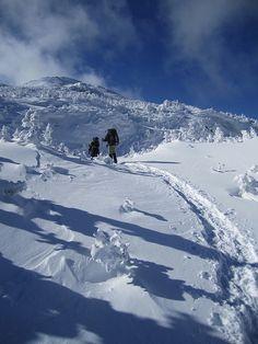 Nearing the summit of Mount Marcy. Adirondack Preserve, NY