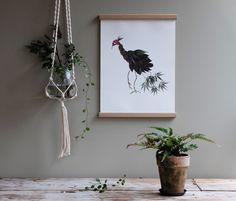 Poster bird HORTENSIA via Emma von Brömssen. Click on the image to see more!