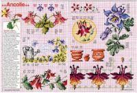 """ru / tymannost - Альбом """"Encyclopedie du point de croix ( Fleurs arbres et feuilles )"""" Le Point, Vintage World Maps, Cross Stitch, Napkins, Gallery, Tableware, Needlepoint, Flowers, Leaves"""