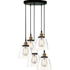 Sleek and stylish, this industrial-chic pendant casts a warm glow in your kitchen or library.   Product: Pendant