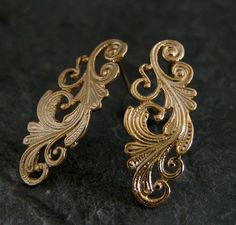 filigree studs - Google Search