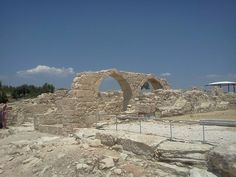 Kourion historical Roman site with views - Lymassol, Cyprus