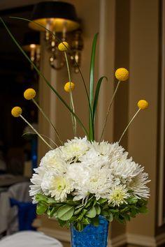 Reception Centerpieces - BILLY BALLS