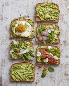 Spring Avocado Toast ways) from www. (What's Gaby Cooking) - Spring Avocado Toast ways) from www.whatsgabycook… (What's Gaby Cooking) - Clean Eating Snacks, Healthy Snacks, Healthy Eating, Healthy Recipes, Avocado Toast, Avocado Salad, Avocado Smoothie, Breakfast Toast, Breakfast Recipes