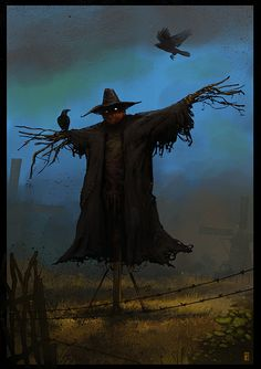 SCARECROW by donmalo.deviantart.com on @deviantART