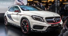 New Mercedes-Benz GLA 45 AMG Brings High-Performance to Compact SUVs - Carscoops