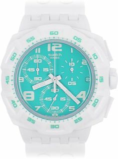 Swatch Originals Chrono Ocean Purity Unisex Watch SUIW403 Swatch. $106.16. Save 12% Off!