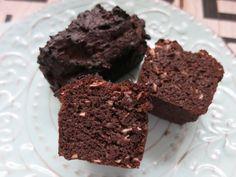 Kokos-Schoko-Brownies - meine Low Carb Schoko-Brownies. Intensiver…
