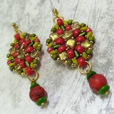 Madhavi earrings   Matubo