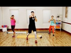 45-Minute Epic Cardio Boxing Workout   Class FitSugar - YouTube