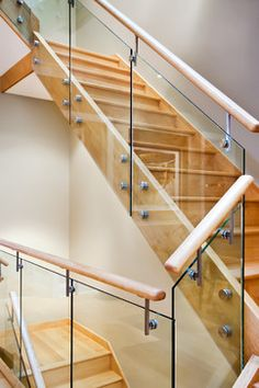 Organic Modern - contemporary - Staircase - Chicago - MAY designs